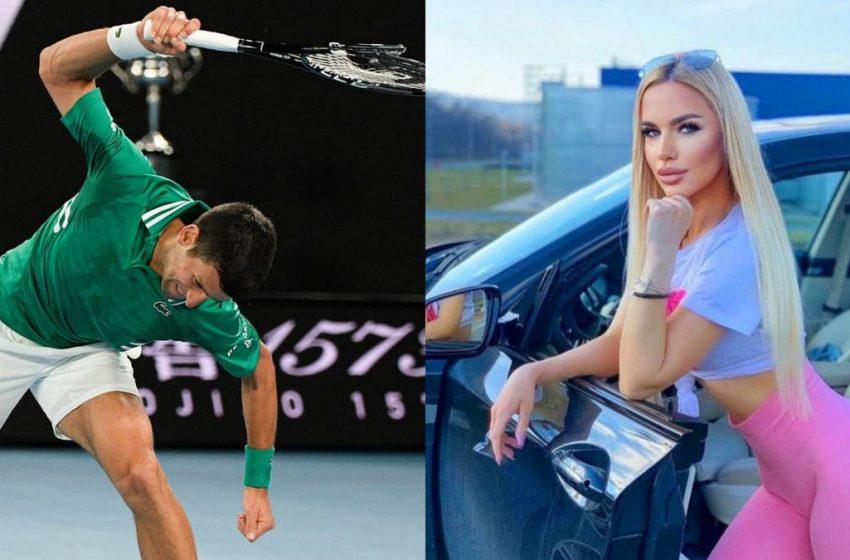 Novak Djokovic propusieron a una modelo serbia seducir y extorsionar al tenista