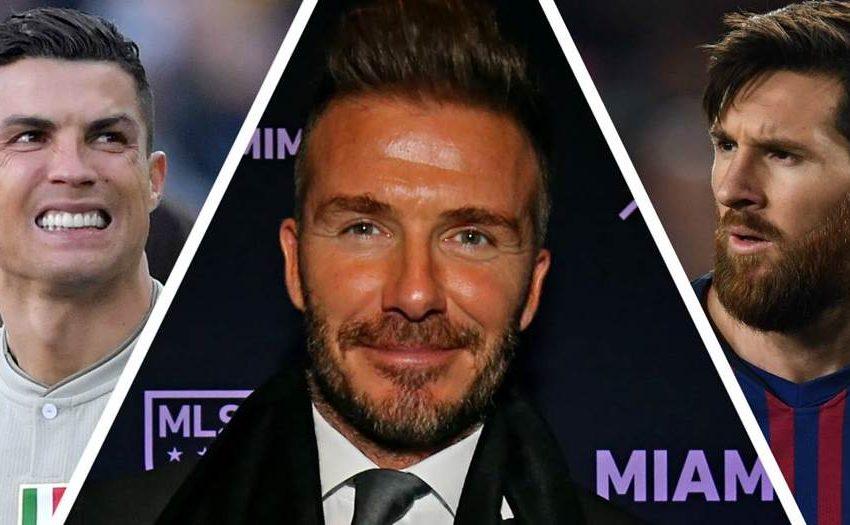 David Beckham quiere a Cristiano, Messi y Neymar en el Inter de Miami