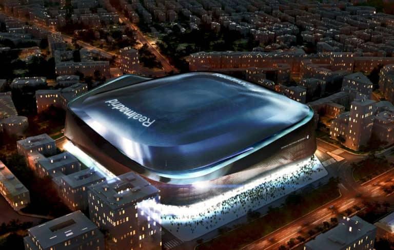 Santiago Bernabéu el estadio del Real Madrid lucirá así