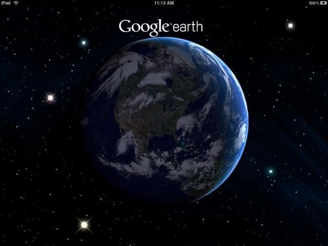 Google Earth te muestra 40 años de cambio climático