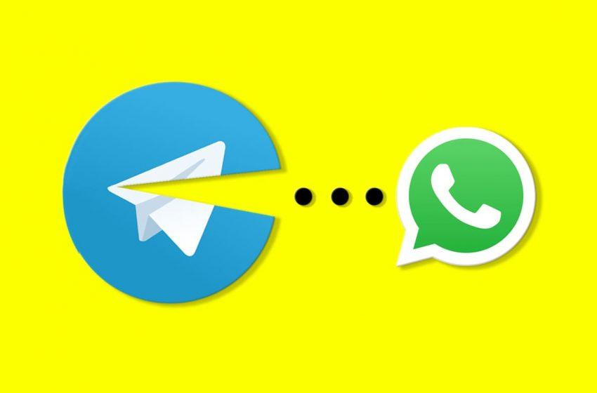Telegram continua creciendo