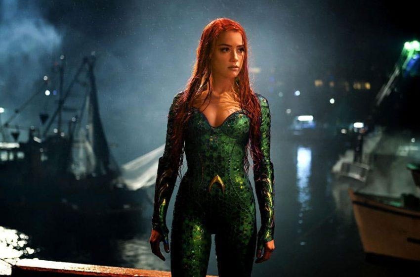 Amber Heard regresa como Mera en Aquaman 2