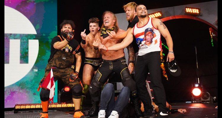 AEW Chris Jericho en batalla contra la traición de MJF y The Pinacle
