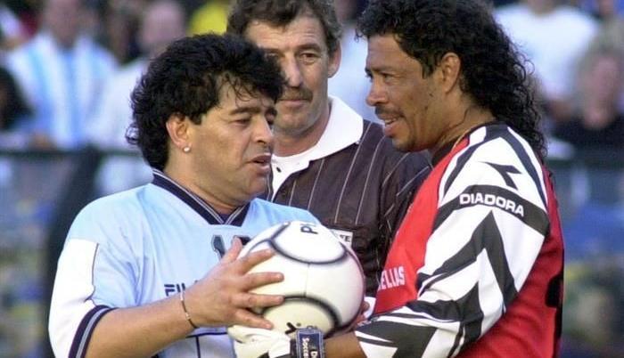 Rene Higuita propone que la copa américa se llame copa Diego Maradona
