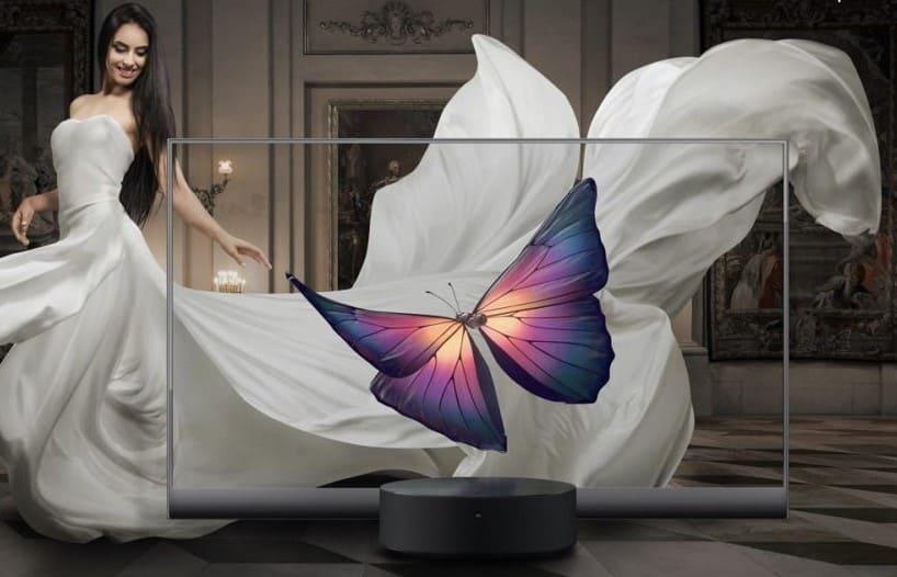 La nueva Tv transparente Xiaomi lux