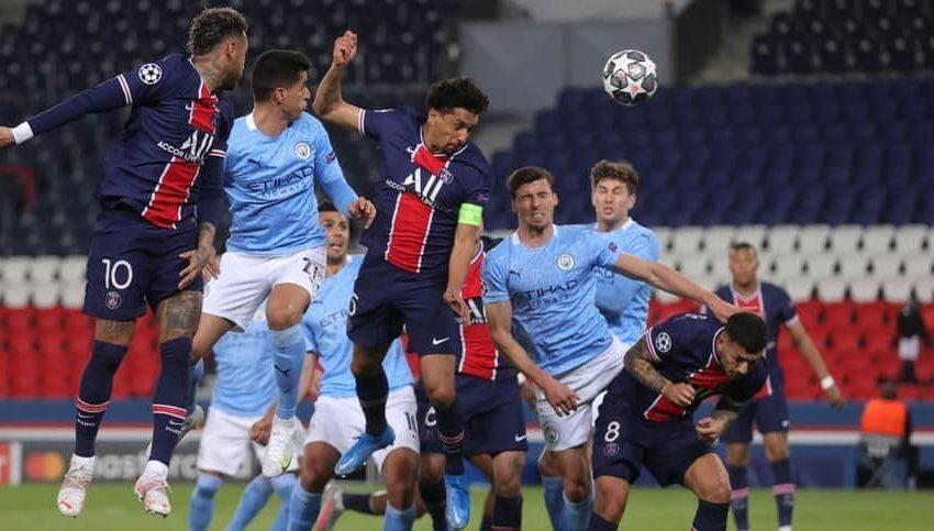 Champions League Manchester City le gana 2 a 1 al PSG