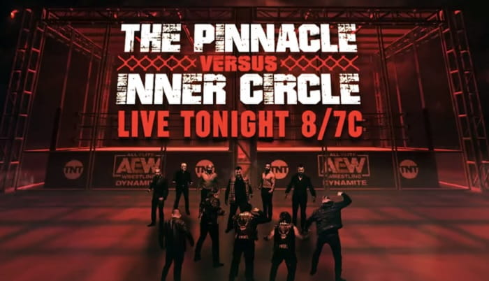 AEW Blood and Guts the Inner Circle vs The Pinnacle