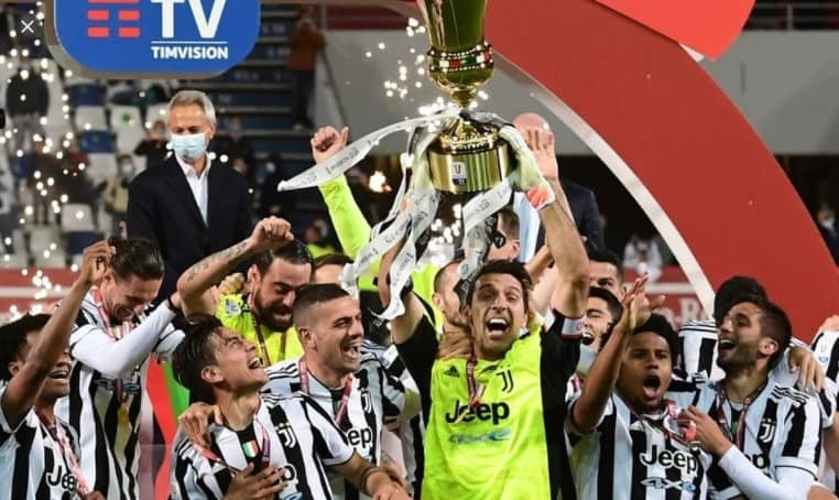 Juventus campeón de la copa Italia