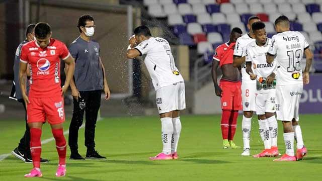 Copa libertadores partido interrumpido por gases lacrimógenos