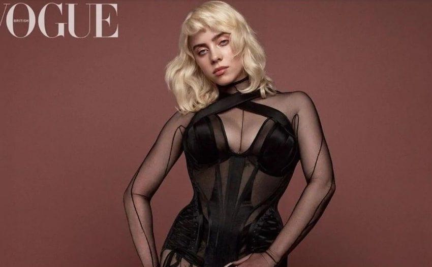 Billie Eilish posa para la revista Vogue