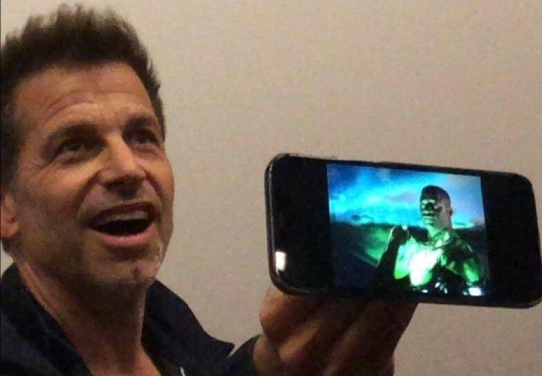 Zack Snyder revela su versión de linterna verde para la liga de la justicia