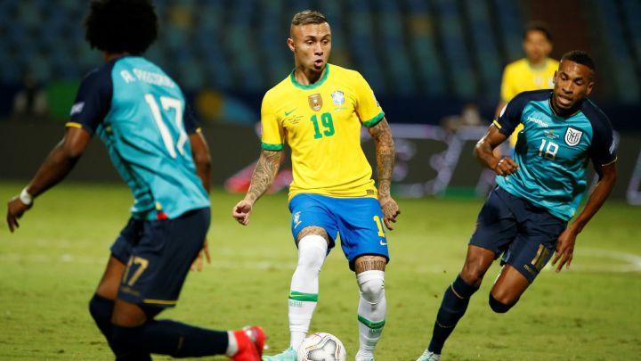 Brasil empato con Ecuador 1-1 Copa América Perú 1 Venezuela 0