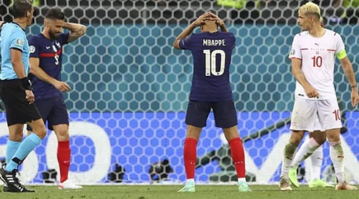 Mbappé falla penal decisivo y Suiza elimina a Francia Eurocopa España 5 Croacia 3