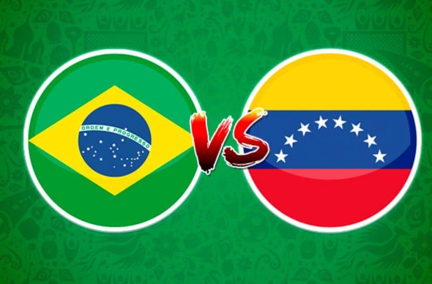 Brasil vs Venezuela inician la copa américa
