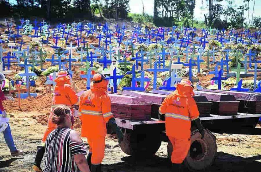Brasil supera las 500.000 muertes por COVID-19