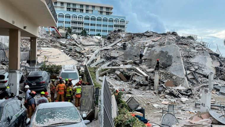 Hallaron 14 nuevos cadáveres en el derrumbe de Miami: hay 78 muertes confirmadas