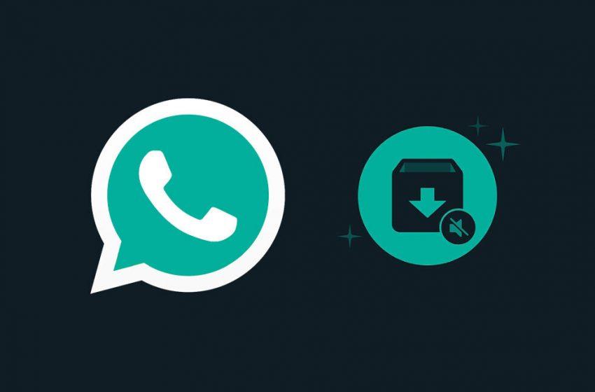 WhatsApp mantendrá tus chats archivados ocultos