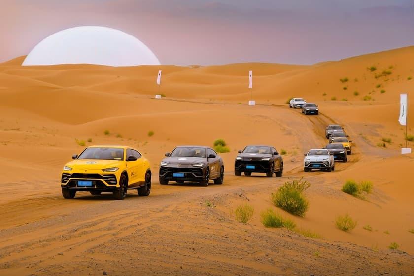 La vuelta a China en 42 Lamborghinis