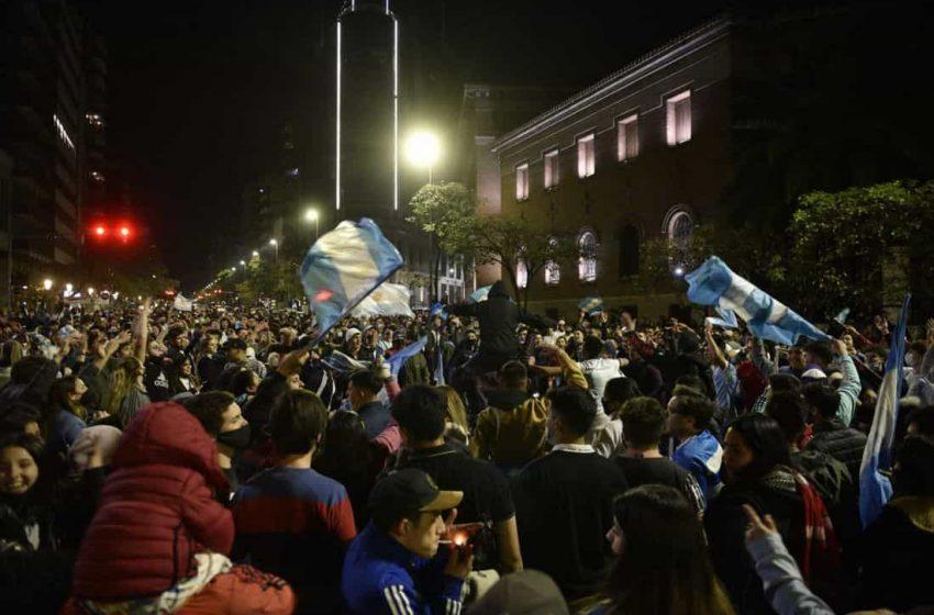Festejo Argentino por el campeonato