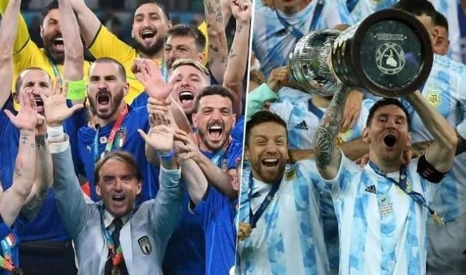 Mas detalles del partido entre Argentina vs Italia