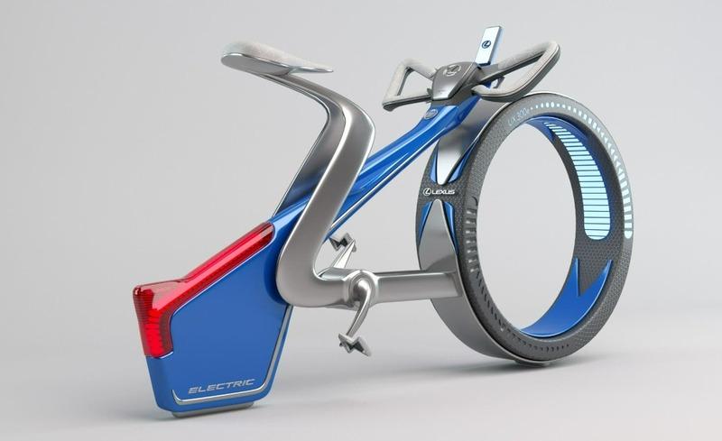 Esta es la nueva bici eléctrica de Lexus