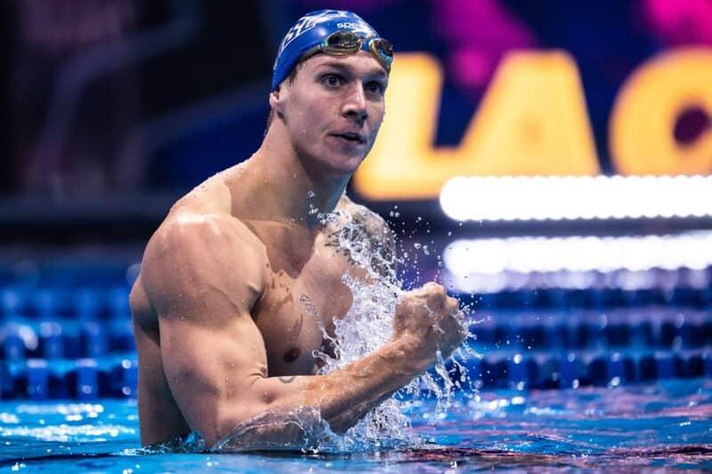 Caeleb Dressel rompe récord olímpico y consigue el oro