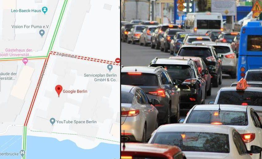 Google Maps te ayudara a evitar el  tráfico vehicular
