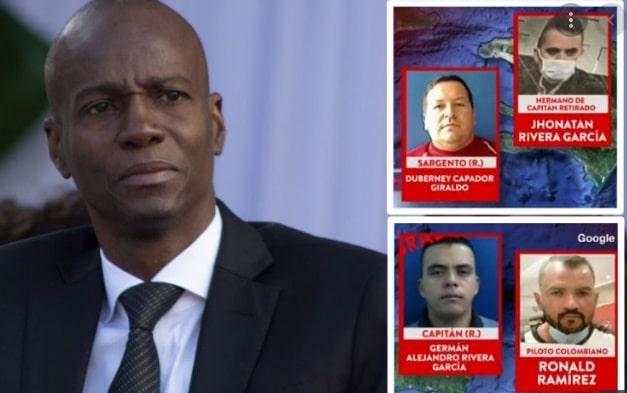 Exmilitar colombiano involucrado en el magnicidio del presidente de Haití