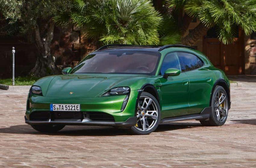 Porsche Taycan Cross Turismo, el SUV eléctrico de lujo