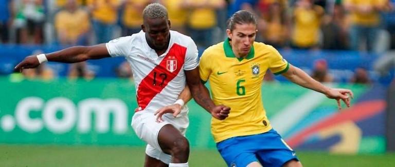 Brasil vs Perú semifinal copa américa