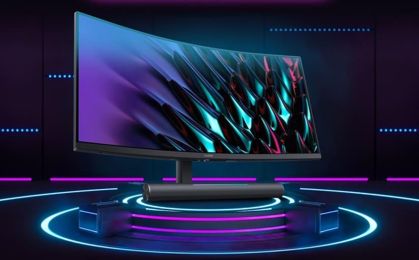 Huawei MateView GT el primer monitor curvo de la empresa