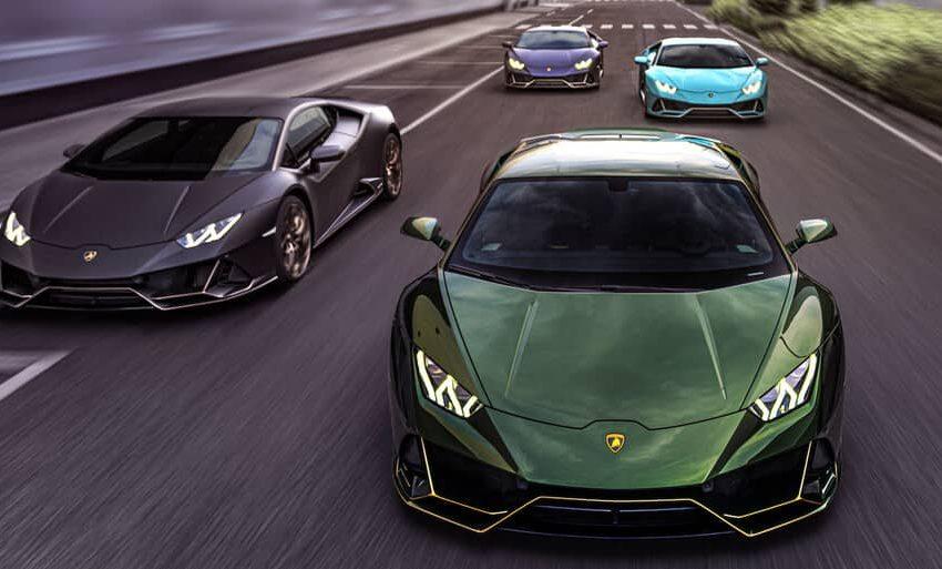 Lamborghini celebro 10 años en México