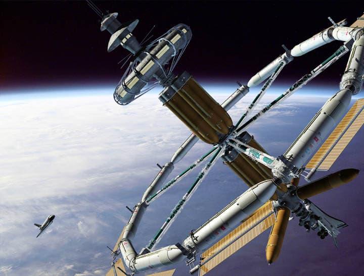 China quiere construir una nave gigante en el espacio
