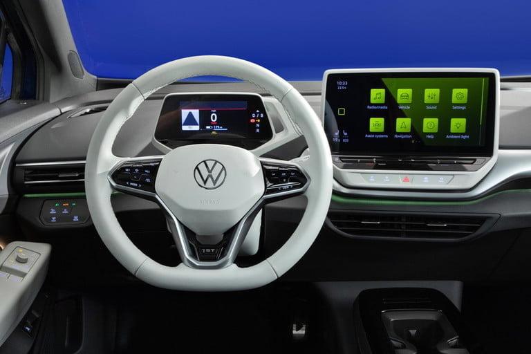 Volkswagen actualiza el software de sus coches eléctricos ID