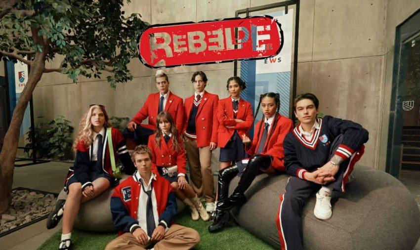 Netflix muestra el nuevo uniforme de los alumnos de Rebelde