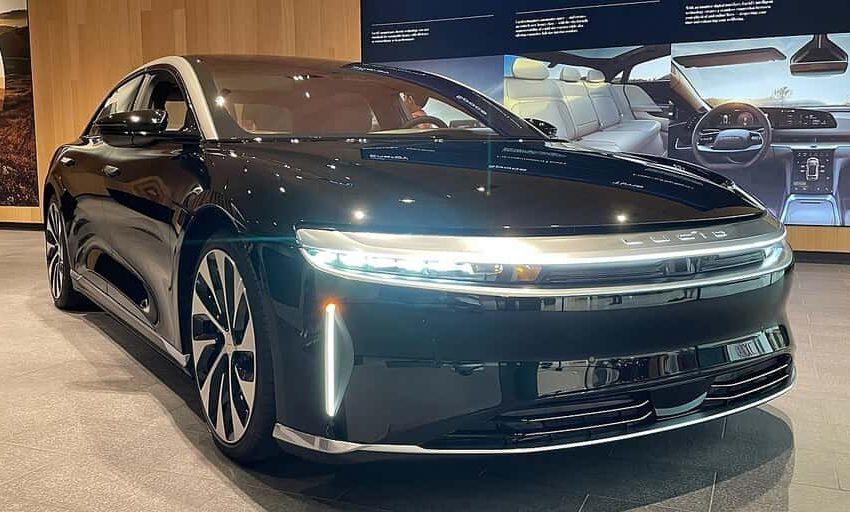 Lucid Air el coche eléctrico con una autonomía de 830 km