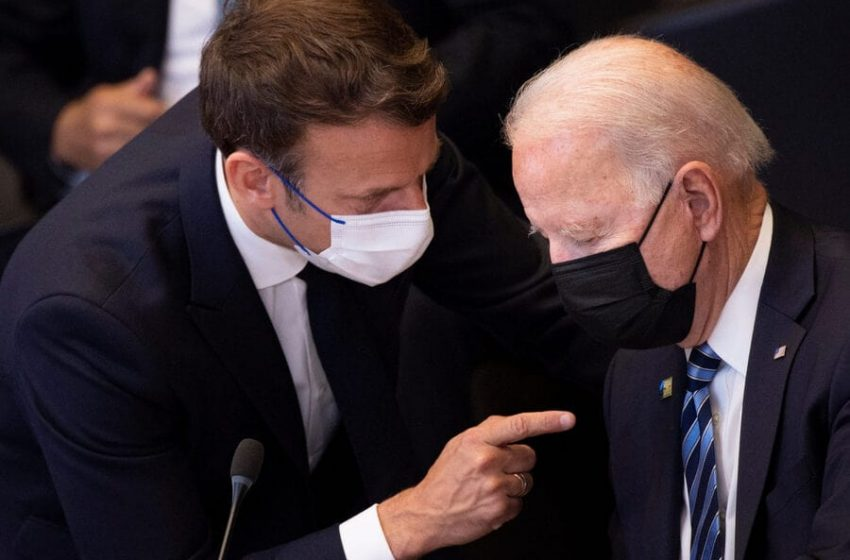 Francia acusa a Biden de engañar a sus aliados trasatlánticos
