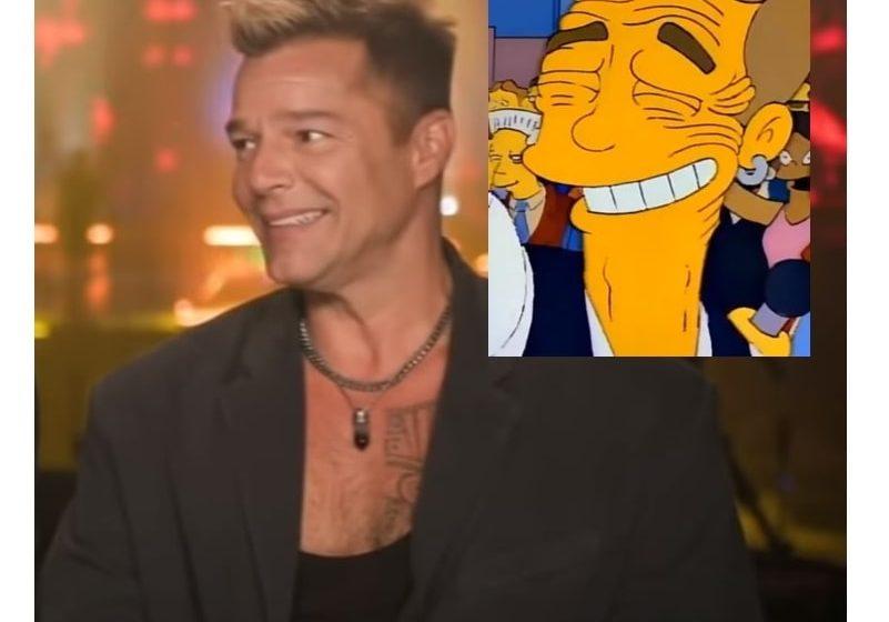 Ricky Martin luce irreconocible y se vuelve un meme