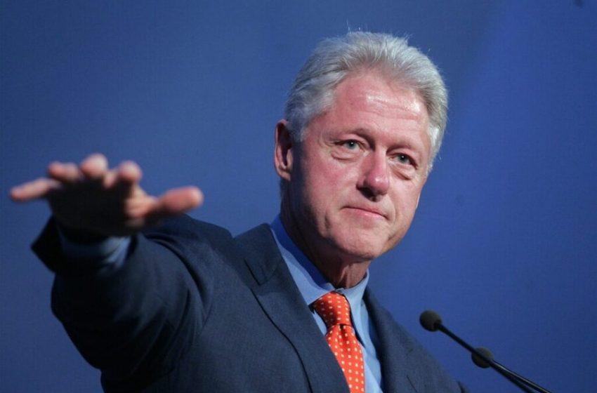 Bill Clinton hospitalizado por una infección del tracto urinario