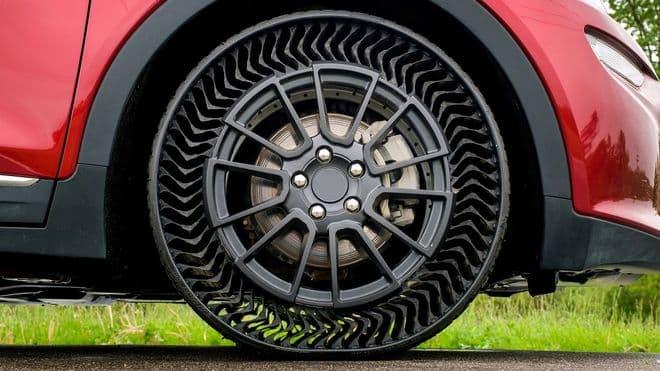 Michelin UPTIS un neumático que no necesita aire